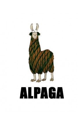 Alpaga nat by Fonty