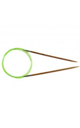 Aiguilles circulaires fixes HiyaHiya - Bambou 6.50mm - cable 80cm