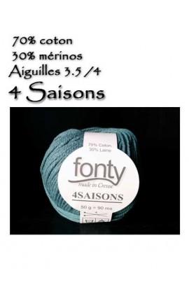 4 saisons by Fonty - Coton et mérinos