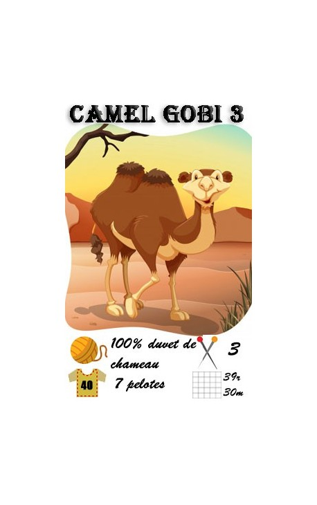 Camel Gobi 3 by Fonty - duvet de chameau