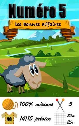 Numero 5 Fonty - Les bonnes affaires