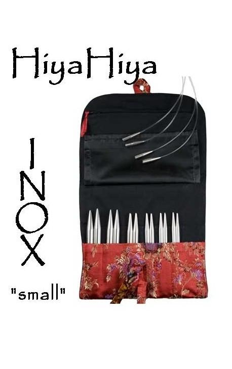 """KIT """"small"""" aiguilles circulaires HIYA HIYA inox"""