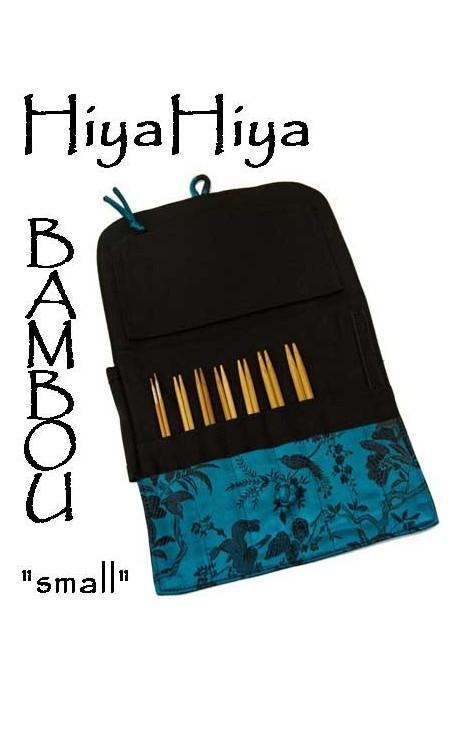 """KIT """"small"""" aiguilles circulaires HIYA HIYA bambou 5"""""""