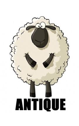 Antique by Fonty - 100% pure laine mèche