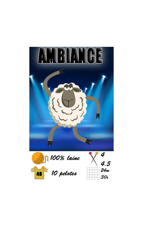 Ambiance by Fonty - 100% laine Superwash