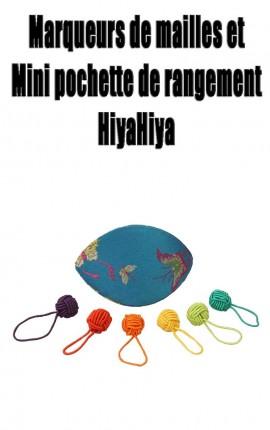 Pochette marqueurs de mailles HiyaHiya