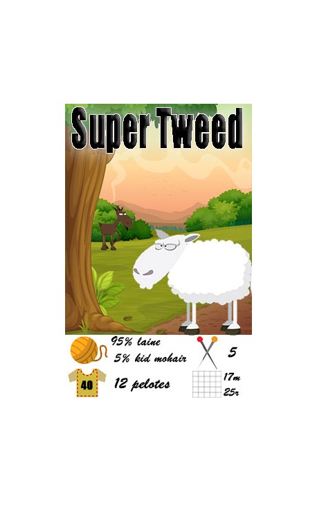 Super Tweed by Fonty