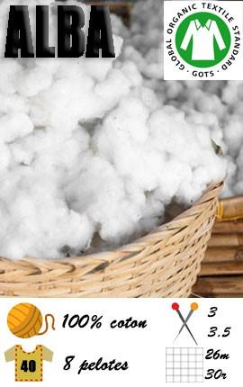 Alba - coton bio