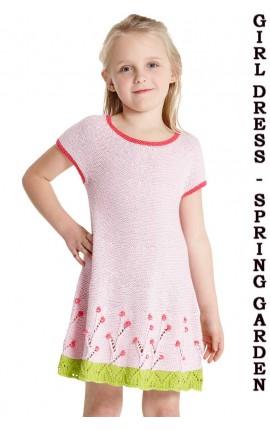 GIRL DRESS -SPRING GARDEN